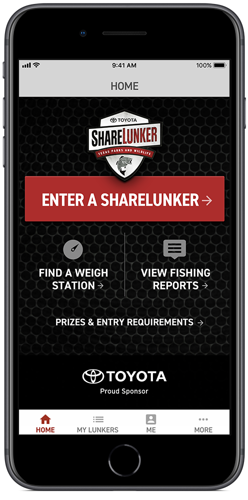 ShareLunker app